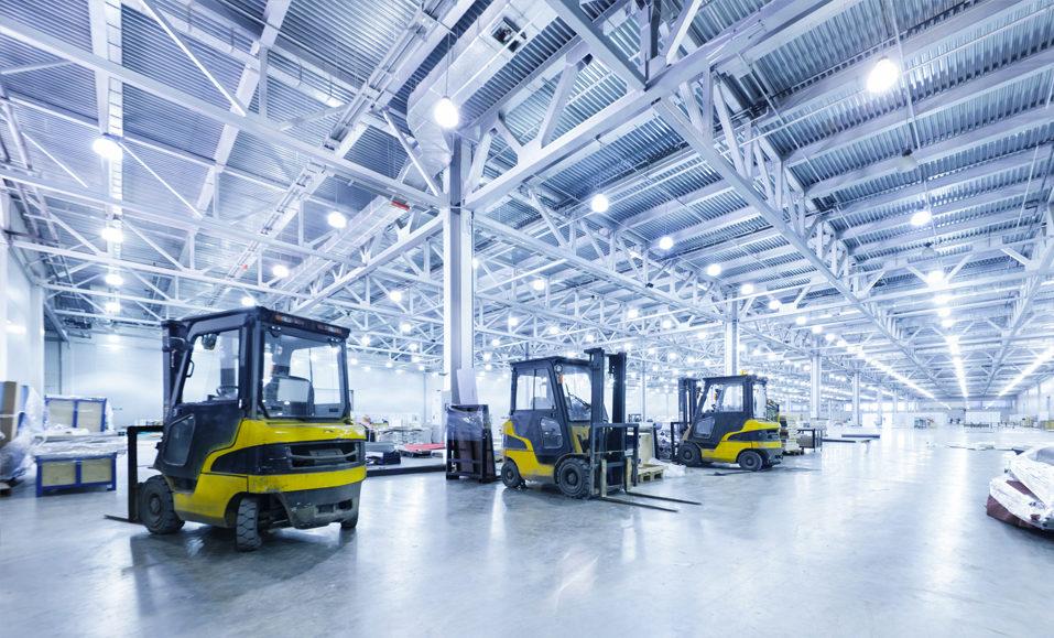 Factory Lighting cost savings
